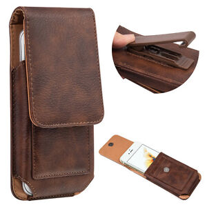 Vertical-Leather-Belt-Pouch-Case-Cover-Wallet-Holster-Belt-Clip-For-Cell-Phone