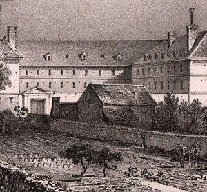 Maison Popincourt lithographie maison popincourt paris jean popincourt paris 1840 | ebay