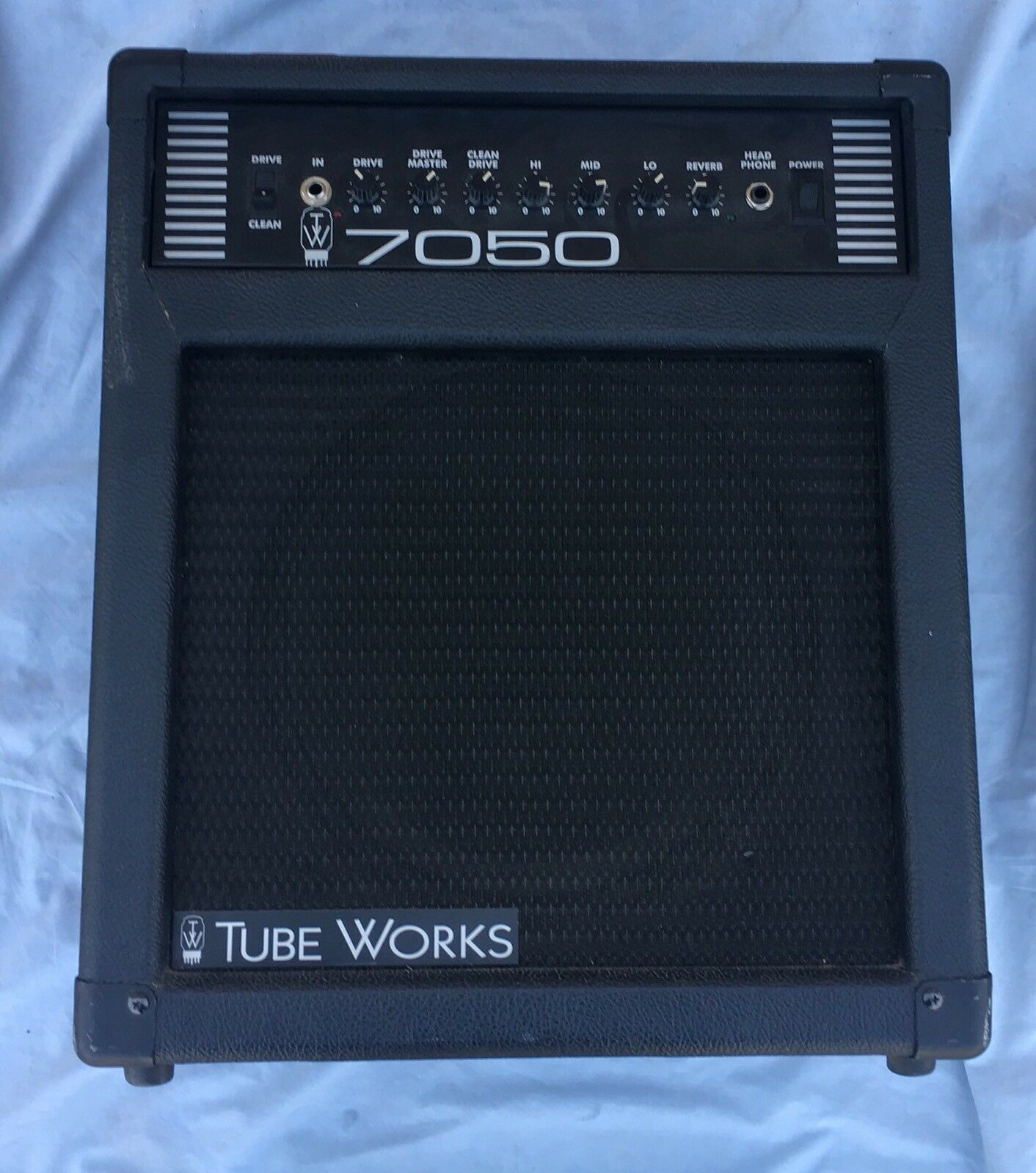 Tube Works 7050 Combo Amplifier  BK Butler USA Made 12AX7 Preamp