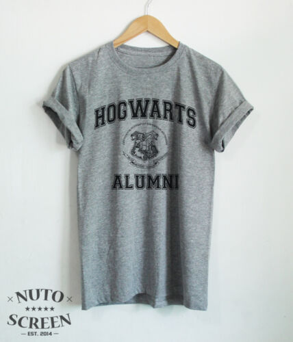 Hogwarts Alumni T-Shirt Houses Shirt Unisex Movie Always Harry Fans Tee Tops