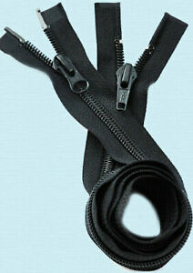36-inch-YKK-5-Coil-2-Way-Separating-Black-Dual-Separating-Parka-Jacket