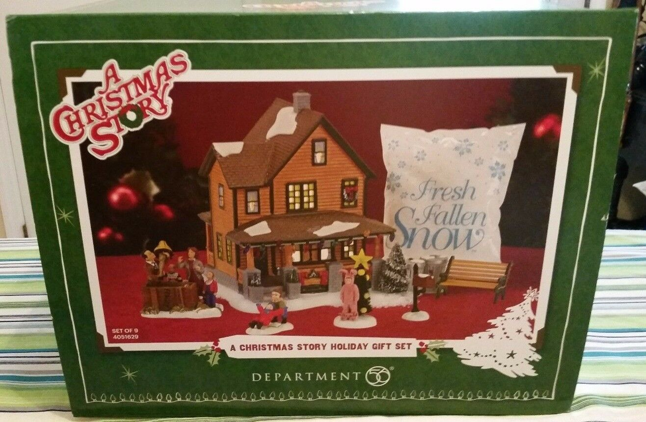 Dept 56 a Christmas Story Holiday Gift Set 4051629 | eBay