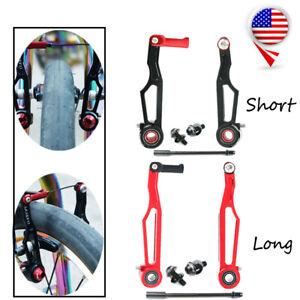 1Pair Litepro Aluminum Folding Bike V-Brake SetShort//Long Arm Bicycle Brake