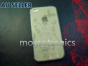 Silicone-Gel-Rubber-soft-butter-fly-flower-Case-Cover-for-Apple-iPhone-4-4s
