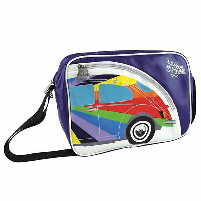 Tracolla Bug Beetle Rainbow Stripes Volkswagen Vw