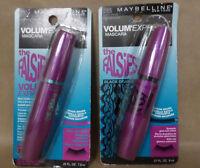 Maybelline Mascara Falsies Volumexpress Choose Your Shade Lot Of 2