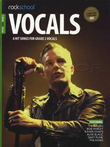 Rockschool Vocals Chanteurs Grade 2 Music Book With Audio Access-afficher Le Titre D'origine Riche Et Magnifique
