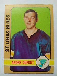 1972-73-OPC-O-Pee-Chee-16-Andre-Dupont-St-Louis-Blues-VG