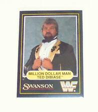 WWF card Million dollar man Ted Dibiase swanson 1991