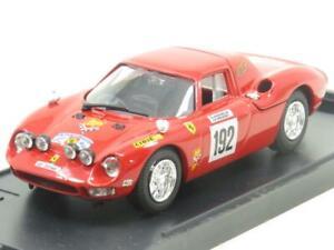 Scatola-Modello-Diecast-8451-FERRARI-250-LM-TOUR-DE-FRANCE-1969-Rosso-1-43-scala-in-Scatola