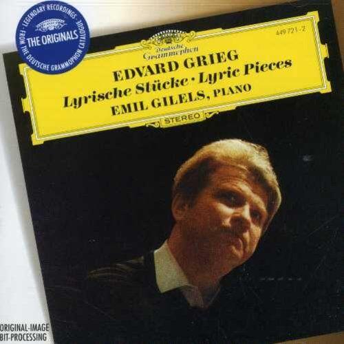 Emil Gilels - Lyric Pieces [New CD]