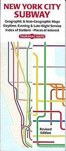 Late Night Weekend Subway Map Ny.Details About New York City Subway Map By Tauranac Maps