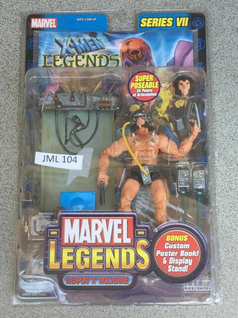 7/'/' Marvel Legend Comics X-Man Wolverine Action Toys with original Box