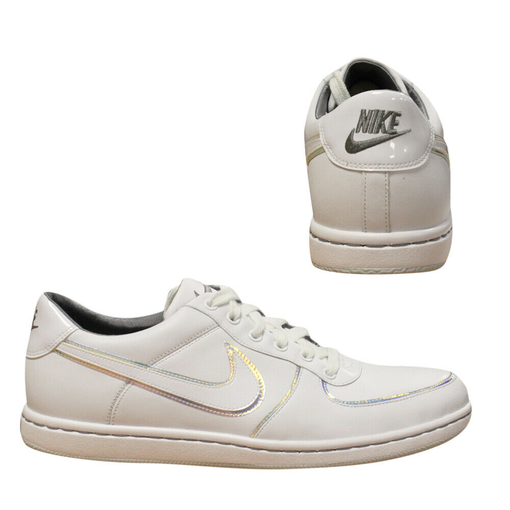 Nike Air Offense 2008 Womens Lace Up  Rare Vintage White Trainers 354938 111 U3