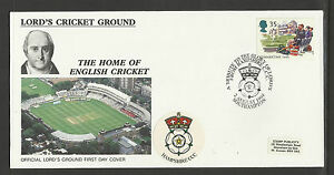 GB 1994 SUMMERTIME LORD'S CRICKET GROUND FDC Hampshire Pictorial Postmark
