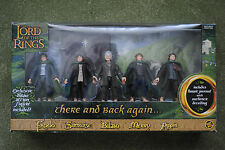 Lord of the Rings There and Back Again... Gift Pack, 5 figures set, Brand New
