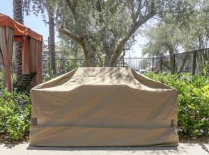 Outdoor Patio BBQ Grill Island Cart Cover Outdoor Kitchen ... on Backyard Patio Grill Island id=33856