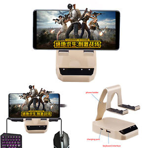 Details about BattleDock Keyboard & Mouse Adapte for Android/Iphone PUBG  Mobile Phone Games