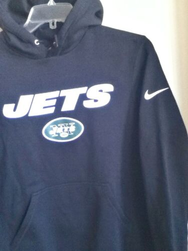 Authentique Jets over Ny Noir Nike Capuche 010 848101 Pull Gilet g6gqfwR
