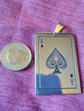 Support 81/ Poker / Biker interest / ace of spades LOOK