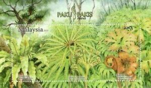 SJ-Fern-Flower-Plant-Of-Malaysia-2010-Flora-miniature-sheet-MNH