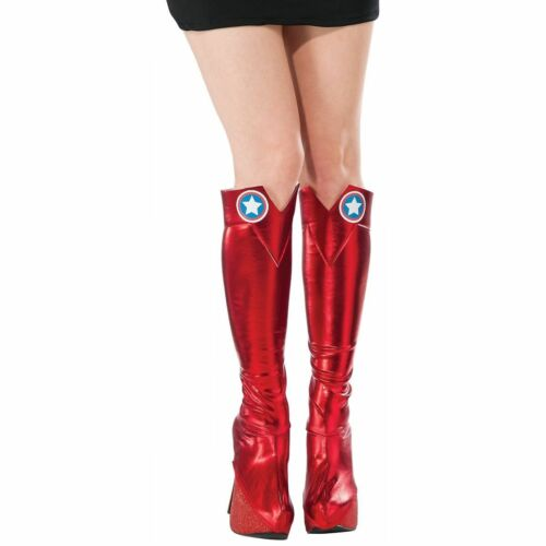 American Dream Boot Tops Costume Accessory Adult Women Captain America Halloween