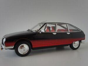 Citroen-GS-Basalte-1978-Noir-1-18-Norev-181626-Grande-Serie-Gsa