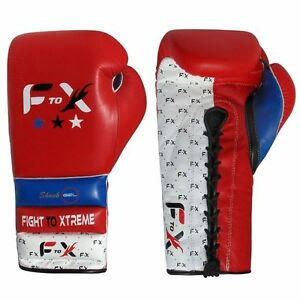 NEW Leather Boxing Gloves Fight Punch Bag MMA Muay Thai Gloves Pad Gloves 16oz - Rochdale, United Kingdom - NEW Leather Boxing Gloves Fight Punch Bag MMA Muay Thai Gloves Pad Gloves 16oz - Rochdale, United Kingdom
