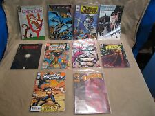 Mixed Comic Book Lot of 10 Chip N Dale Batman Shadow Justice League Eclipso   ll