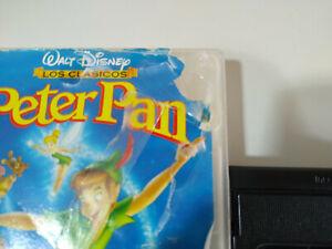 Peter-Pan-Los-Clasicos-de-Walt-Disney-VHS-Espanol