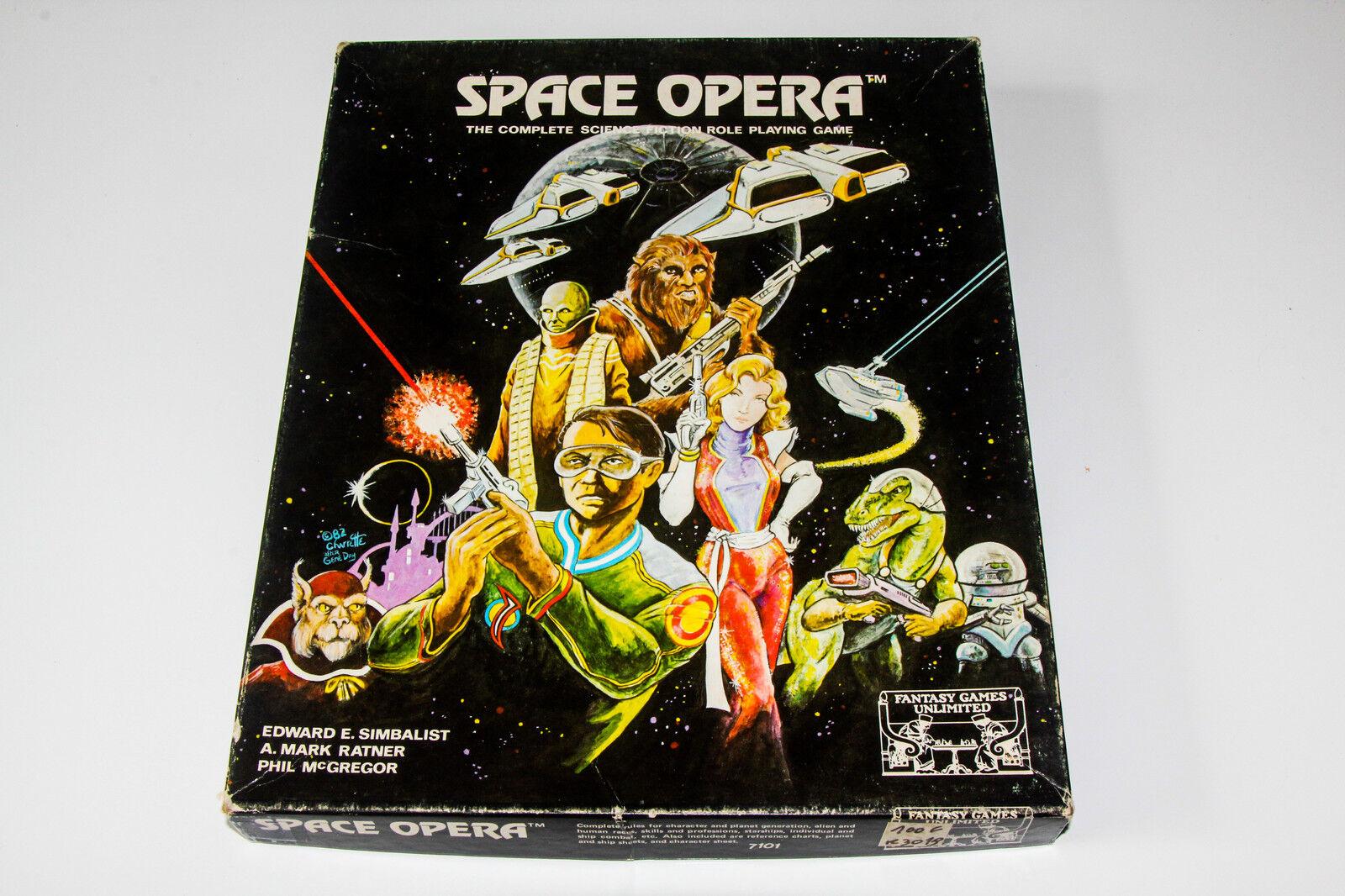 SPACE OPERA - COFFRET - BOXED