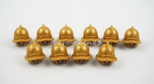 PICK YOUR WEAPON Orange Helmet Medieval Knights Plastic Weapon Accessory Toys
