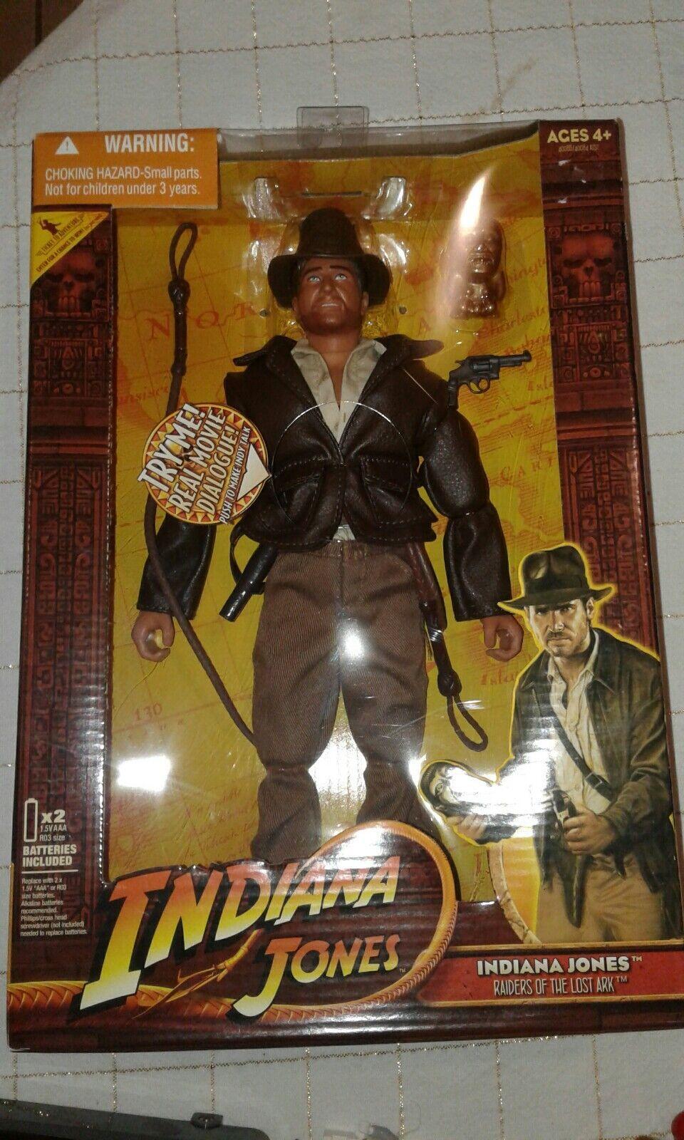Indiana Jones talking 12  Action Figure Hasbro (2008) NEUF (A3)
