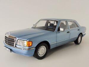 Mercedes-benz-560-sel-1991-pearlblue-1-18-norev-183464-Mercedes-serie-126