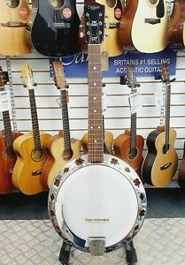 Vintage-1960-039-s-Hoyer-6-string-guitar-banjo-made-in-Germany