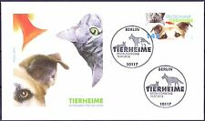 BRD 2012: Tierheime! FDC der Nr. 2945 mit Berliner Ersttags-Sonderstempeln! 1A