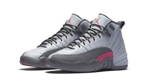 Nike AIR JORDAN 12 XII RETRO GS wolf grey pink 510815 029 Size 8.5 9 ... f1533ab1b