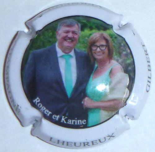 Roger et Karine Capsule de Champagne LHEUREUX Gilbert New !!