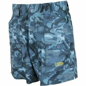 AFTCO Youth Camo BE2 Original Fishng Shorts--Pick Color/Size-Free Shipping