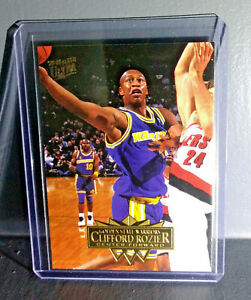 1995-96 Clifford Rozier Fleer Ultra #62 Basketball Card