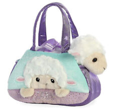 "Aurora Pet Carrier 7/"" Peek-A-Boo Polar Bear"