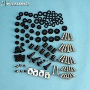 Motorcycle-Complete-Fairings-Bolt-Kit-Body-Work-Screws-For-CBR600F4-F4i-99-07