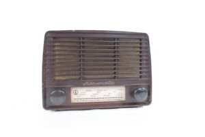 Old-Radio-RFT-VEB-Minorette-A-201-Old-Vintage-Collector-Bakelite