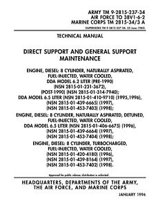 gm chevy diesel repair and parts manual 6 2 liter 6 5 motor 6 2l 6 5 rh ebay com 6.4 Diesel Engine 6.5 Diesel Problems