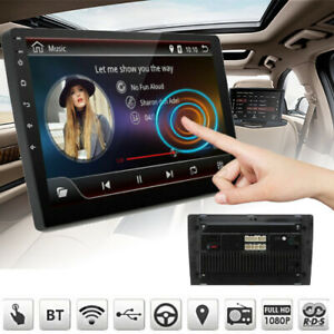 NEW-9-039-039-Car-MP5-Player-2-DIN-Stereo-Android-8-1-Radio-GPS-WiFi-16GB-Touch-Screen