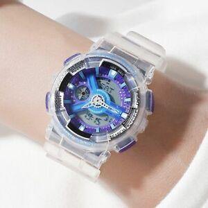 Ladies-Sports-Wristwatches-Digital-Movement-Women-Watch-Jelly-Jam-Belt-Buckle