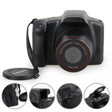 "D200 2.8"" TFT LCD 720P HD 12MP Digital SLR DV Camcorder Camera 4x Zoom Black New"