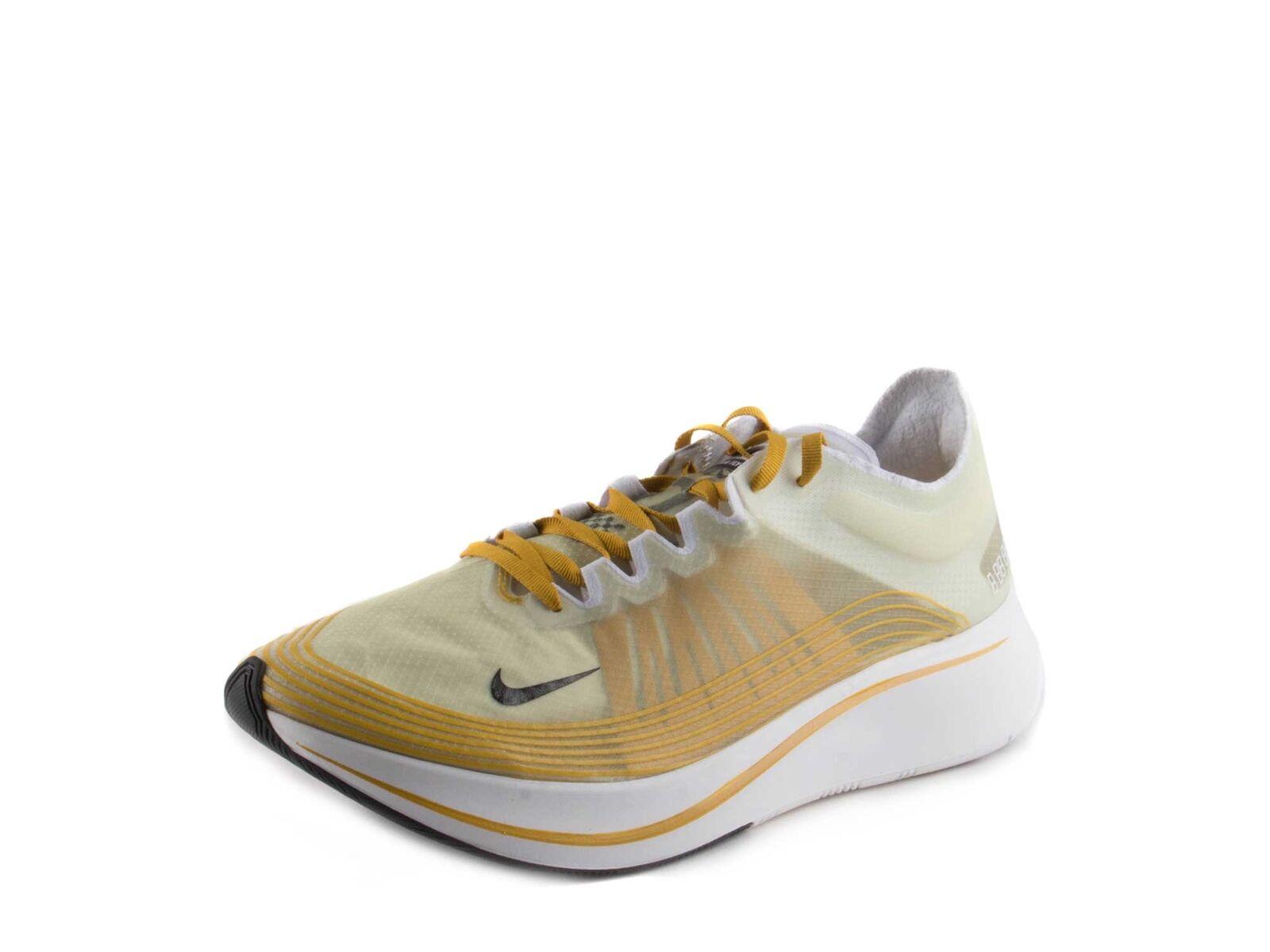 Nike para hombre Zoom Fly SP Citron oscuro negro AJ9282-300