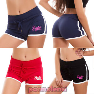 Short Femme Short Sport Fluo Fitness Élastiques
