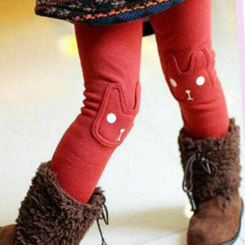 Girls Leggings Embroidered Elasticity Thickening Plus Cashmere Leggings 2130